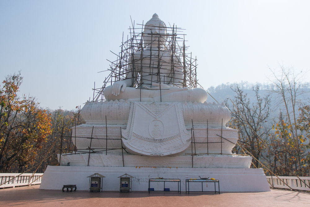 White Buddha