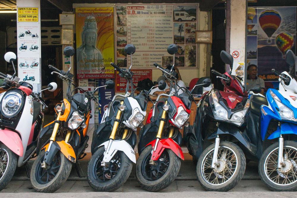 Aluguel de motos em Pai