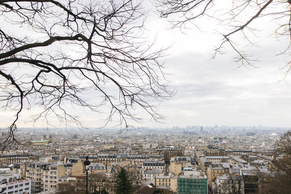 Vista da Catedral Sacre-Coeur