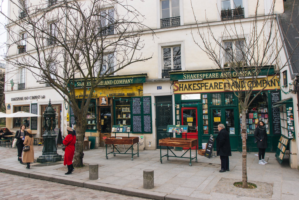 Livraria Shakespeare and Company