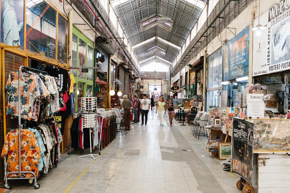 Mercado de Antiguidades de San Telmo