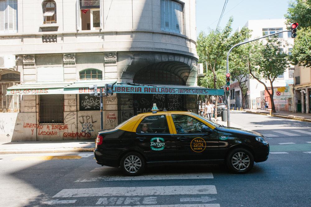 Taxi de Buenos Aires