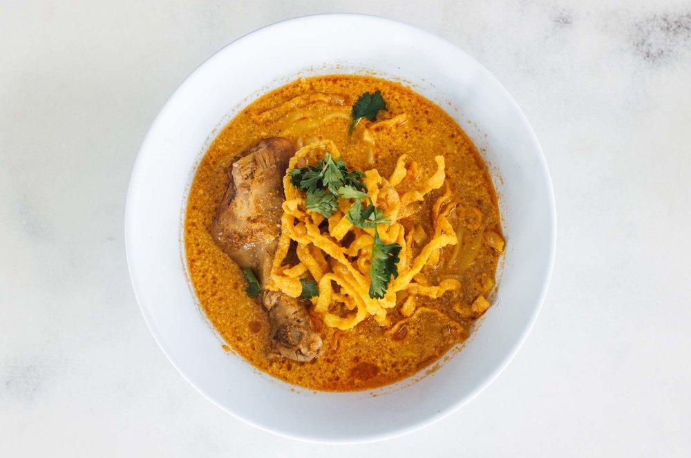 Khao Soi, meu prato tailandês favorito