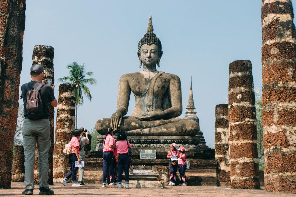 Wat Mahathat, Sukhothai na Tailândia