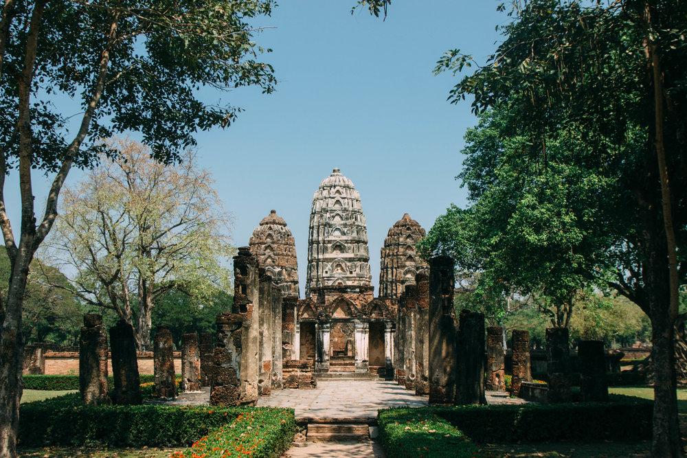 Wat Si Salat, Sukhothai na Tailândia