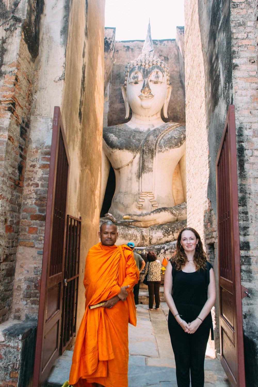 Wat Sri, Chum, Sukhothai na Tailândia