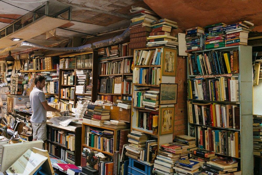 Libreria Acqua Alta Veneza
