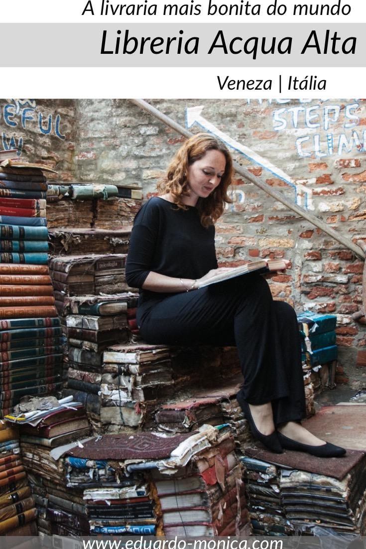 Libreria Acqua Alta em Veneza: A Mais Bonita do Mundo