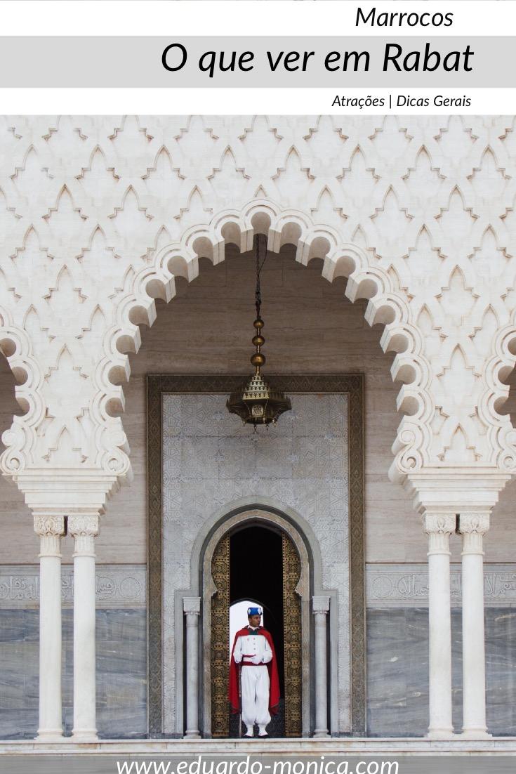 O que ver em Rabat, A Capital do Marrocos