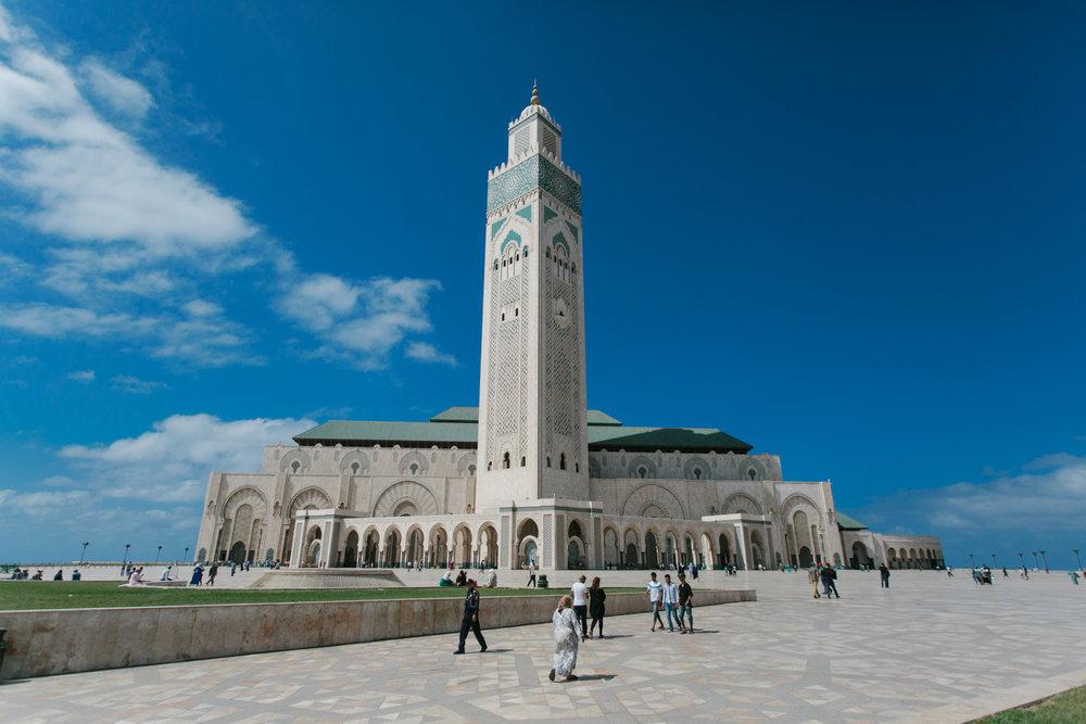 Mesquita Hassan II, Casablanca