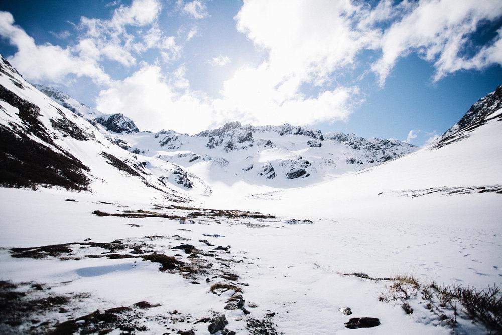 glaciar martial ushuaia patagonia argentina