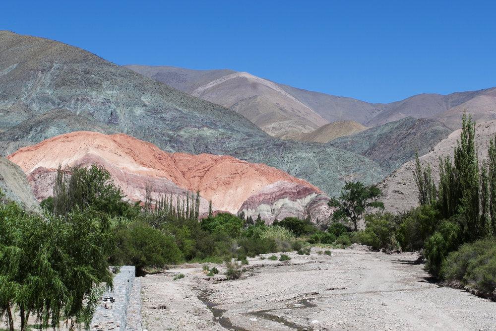 Purmamarca Cerro Siete Colores Argentina