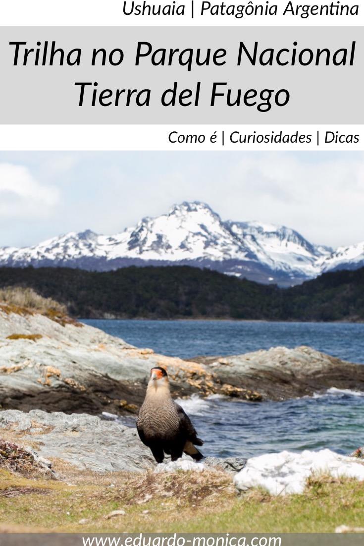 Trilha no Parque Nacional Tierra del Fuego, Ushuaia