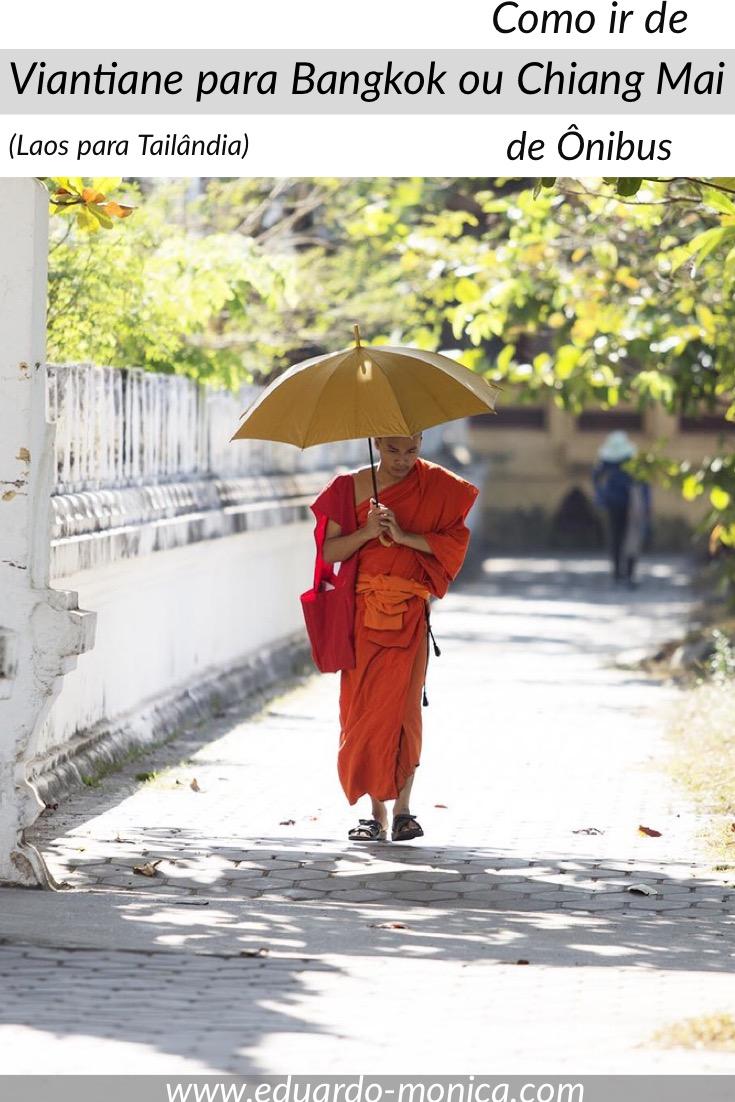 Como Ir de Viantiane para Bangkok ou Chiang Mai de Ônibus