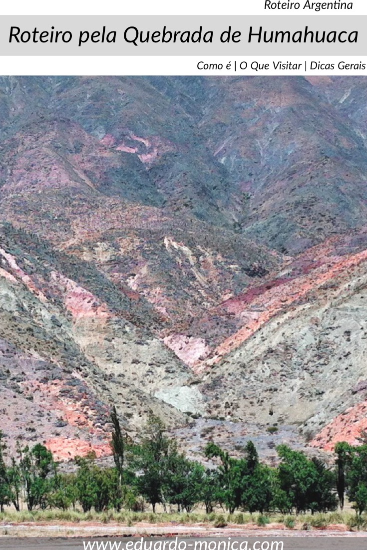 Roteiro pela Quebrada de Humahuaca
