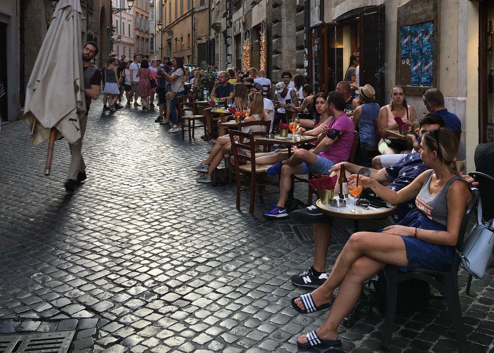 A Itália só bebe Spritz