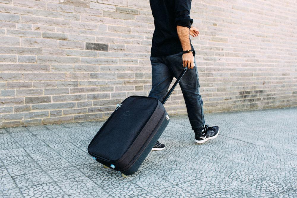 Mala de cabine / bagagem de mão do Eduardo