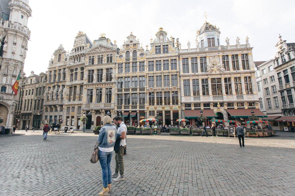 Grand Place  Roteiro 1 Dia Bruxelas