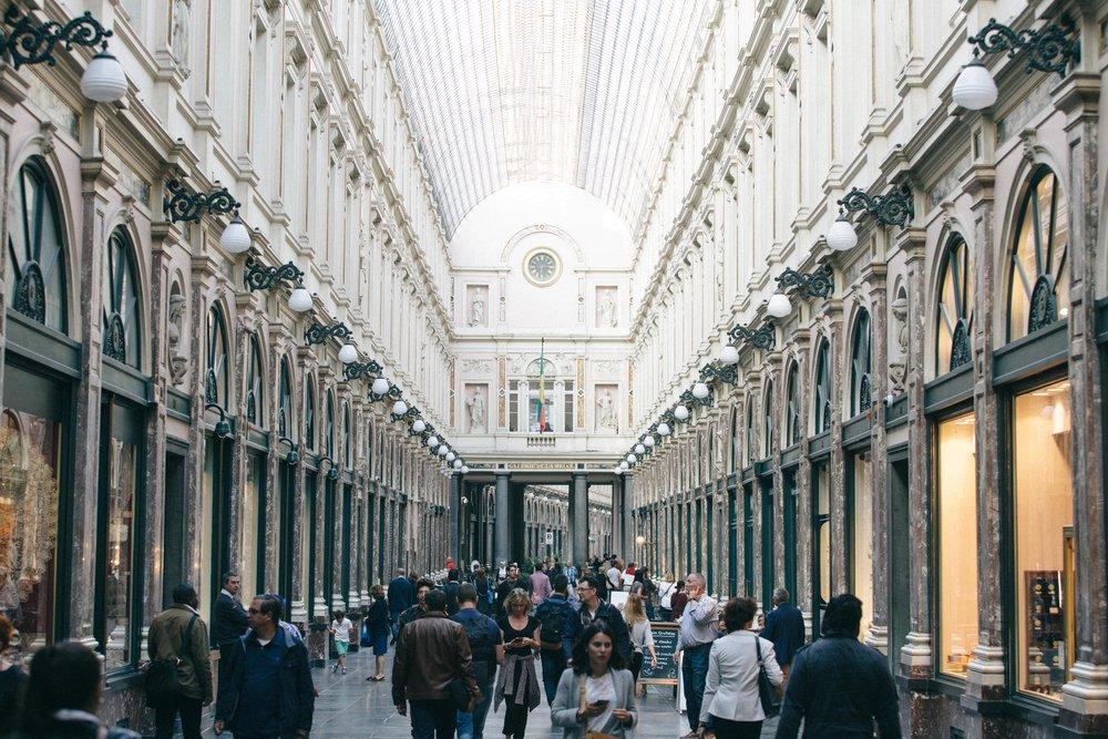 Royal Galleries of Saint Hubert   Roteiro 1 Dia Bruxelas