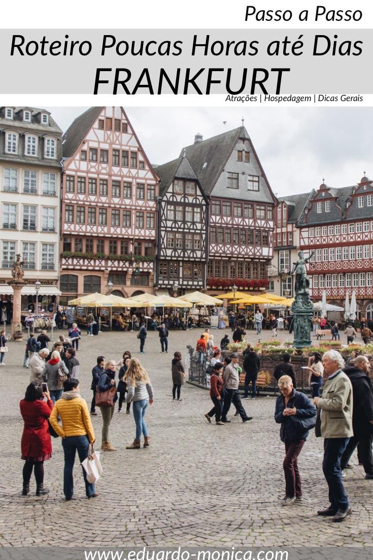 O Que Fazer em Frankfurt em Poucas Horas Até Dias