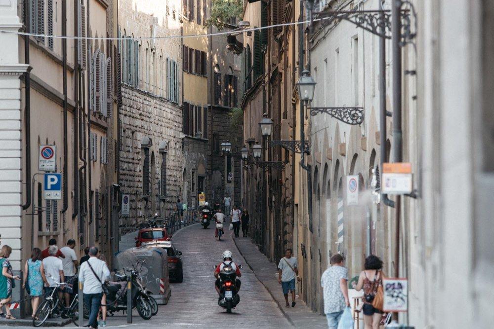 Ruas de Florença