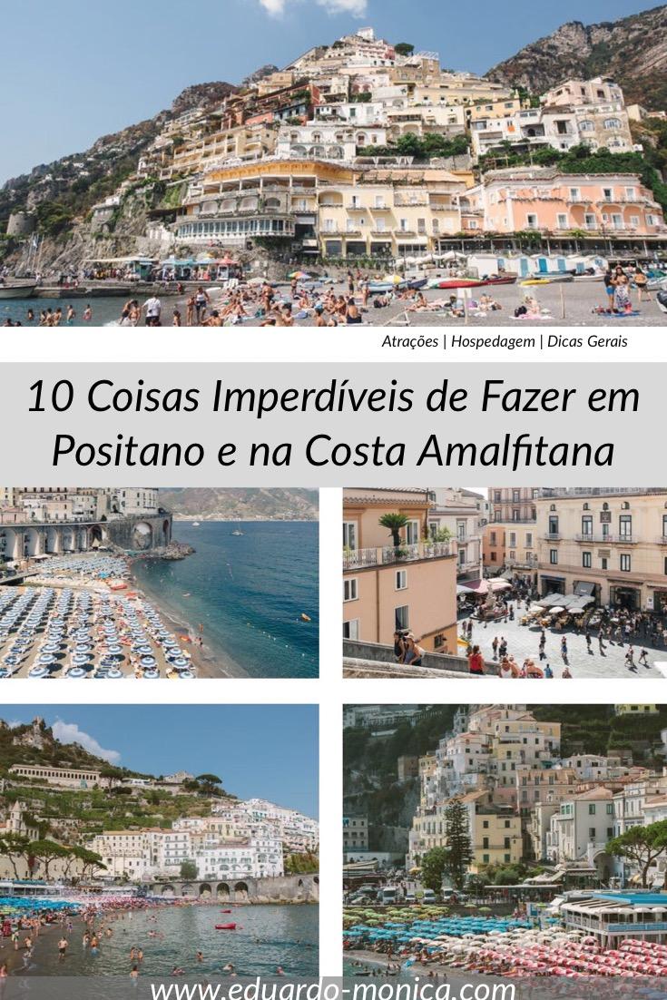 10 Coisas Imperdíveis de Fazer em Positano e na Costa Amalfitana