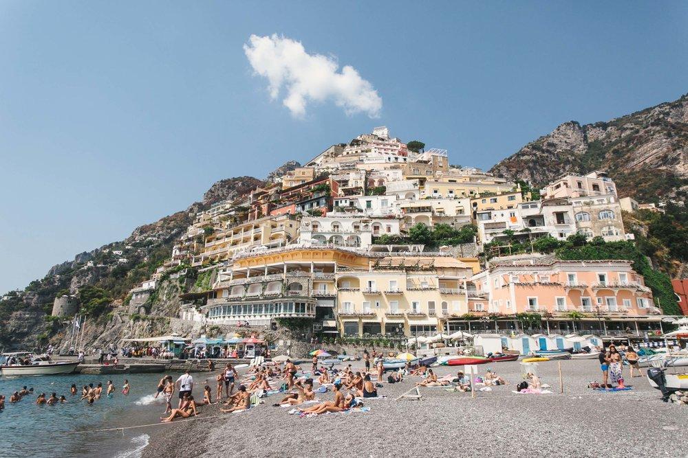 Positano, Itália | Como Planejar uma Viagem pela Europa