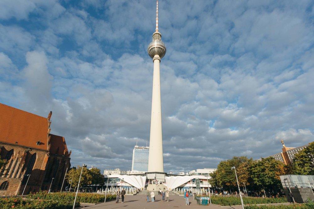 Berliner Fernsehturm, a Torre de Televisão