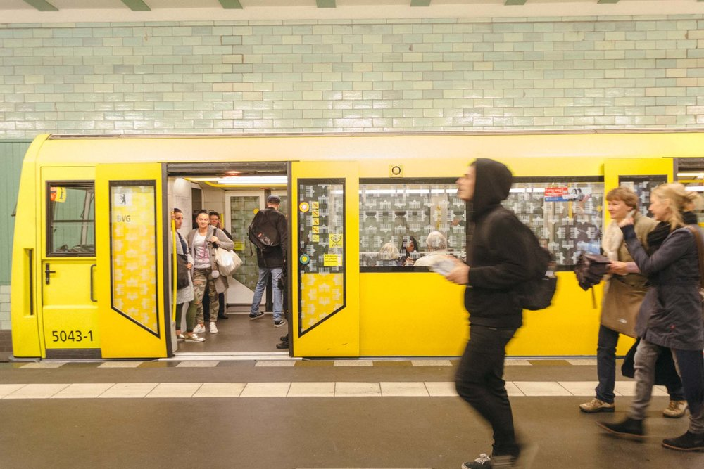 Metro em Berlim