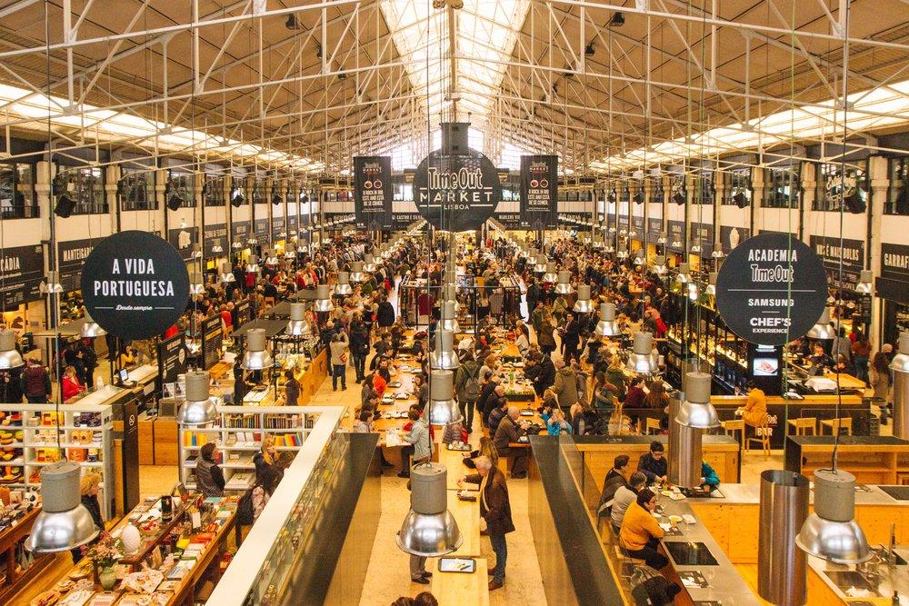 Mercado da Ribeira - Mercado Time Out Lisboa