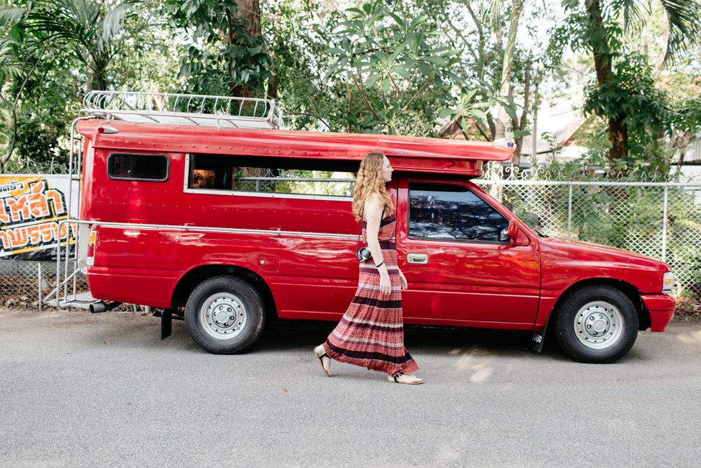 Redtruck em Chiang Mai
