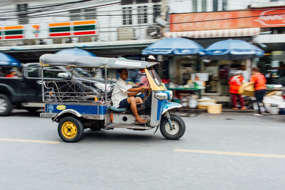 Tuktuk em Bangkok