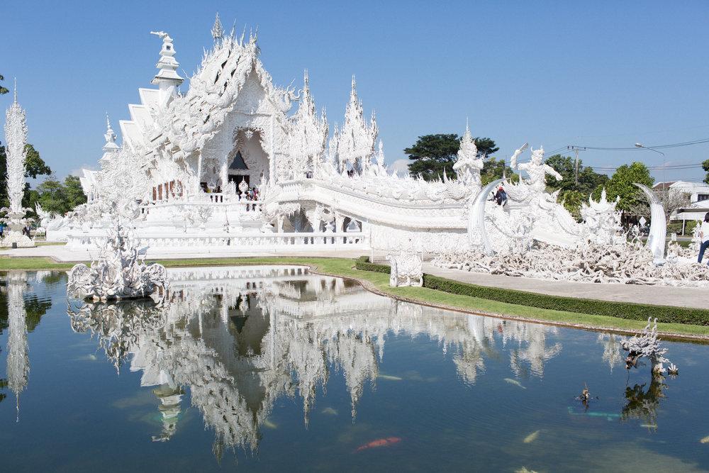 Templo Branco em Chiang Rai