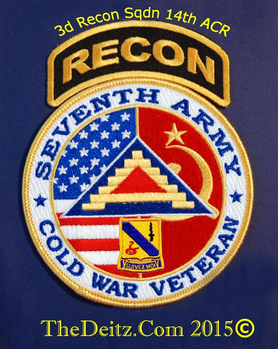 3rd Recon Sqdn 14th/11th ARMORED CAVALRY