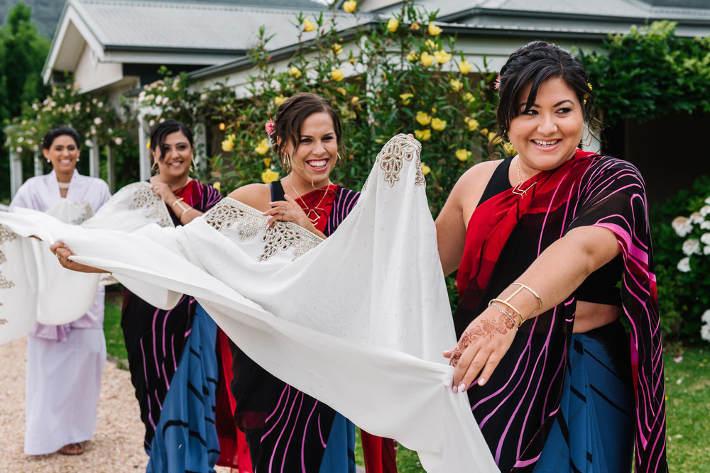 Bridal party in the Shoalhaven