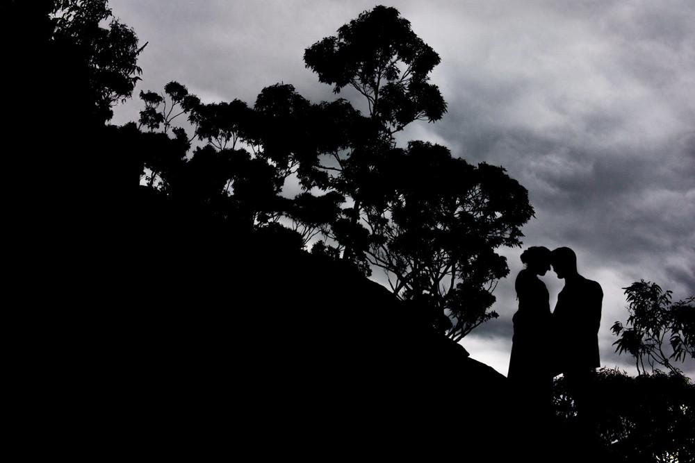 Silhouette at Kangaroo Valley