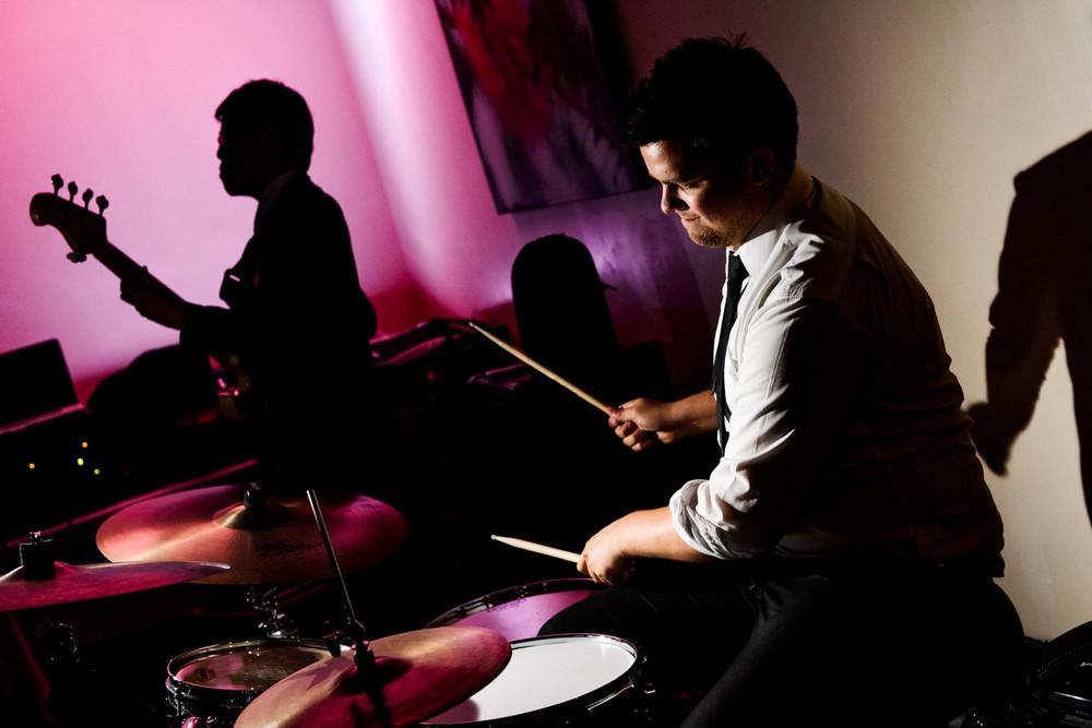 Band performing at Kangaroo Valley reception