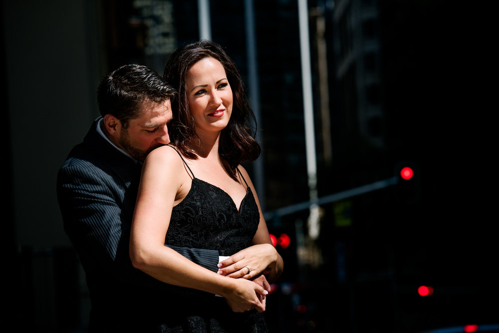 Sydney city engagement session