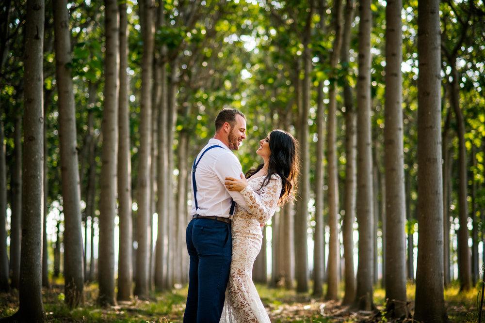 Happy newlyweds at Cornwallis House.jpg
