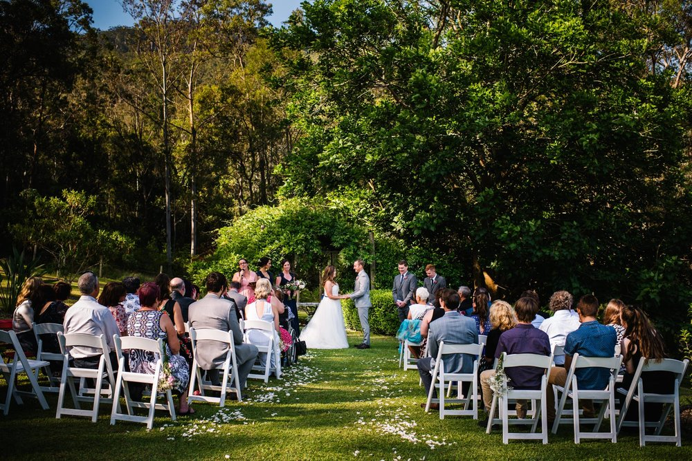 Greenfield Farm Wedding ceremony