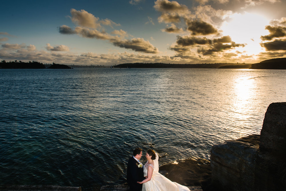 Northern beaches wedding - Little Manly