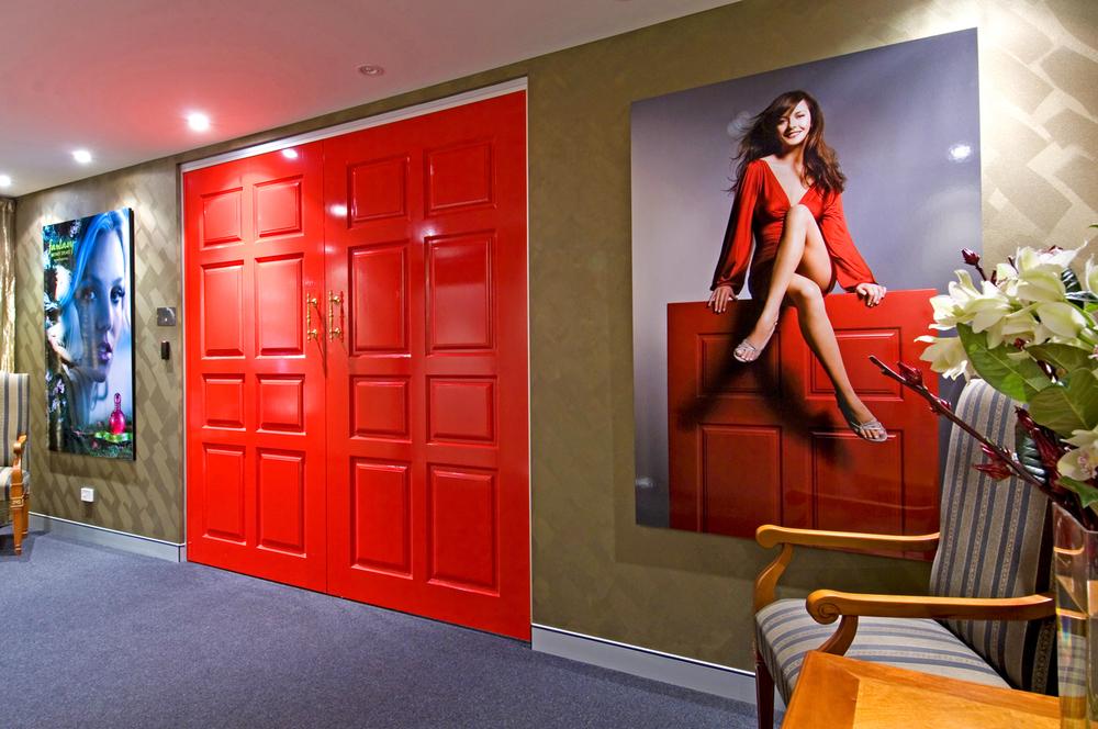 Elizabeth Arden 570 square metres 4month fitout project