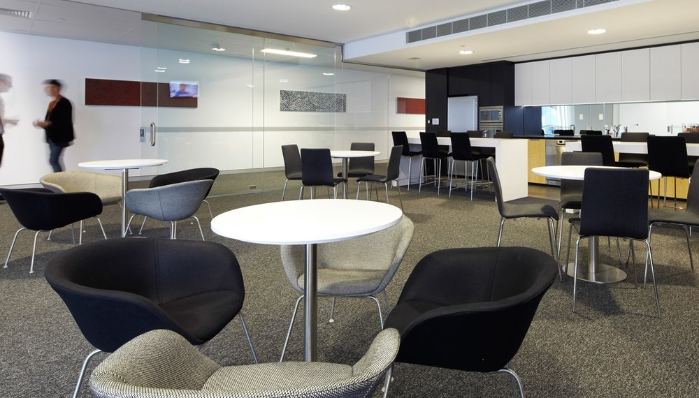 Commercial Office Fitouts + Sydney + Interior Design + Project Management Macquarie Telecom