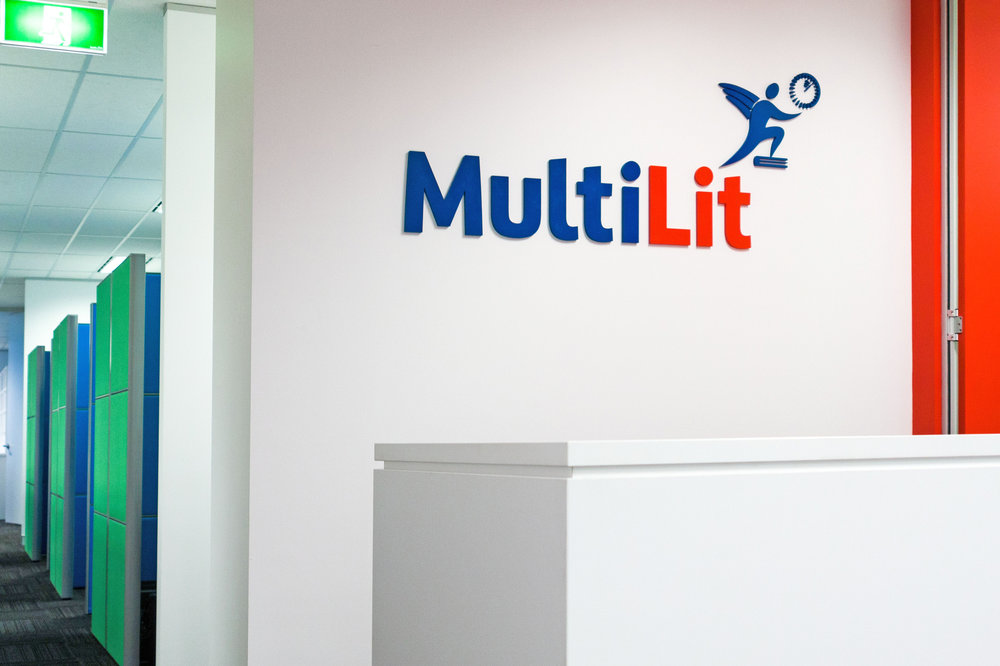 Multilit 540 square metres 4 month fitout project