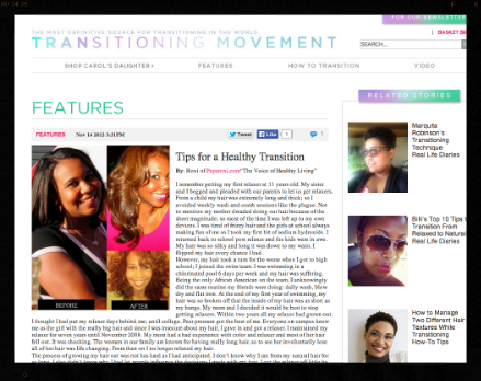 Transitioning Movement 2