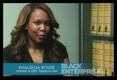 Khaleeqa at Black Enterprise