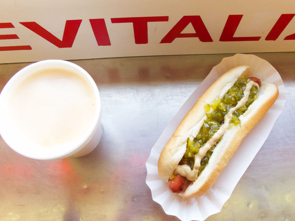 Hot Dog from Gray's Papaya