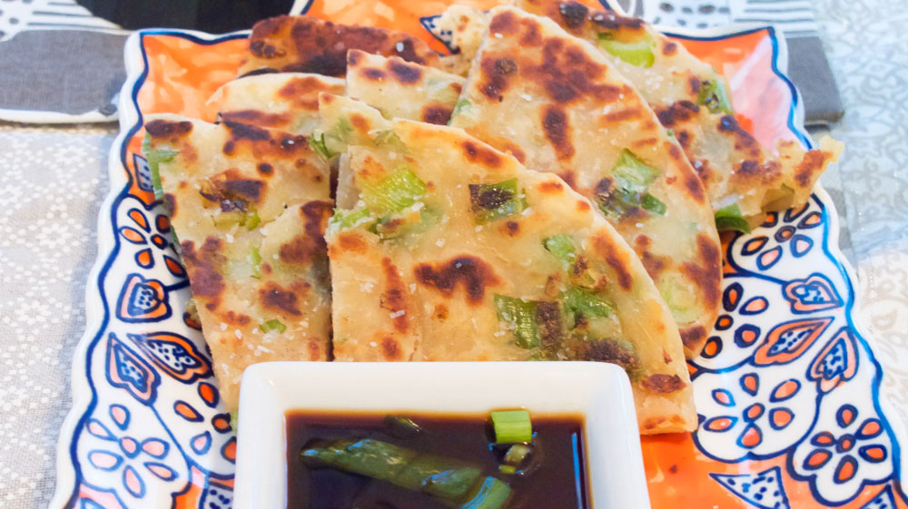 Scallion Pancakes, also from Chinese Take-out Night