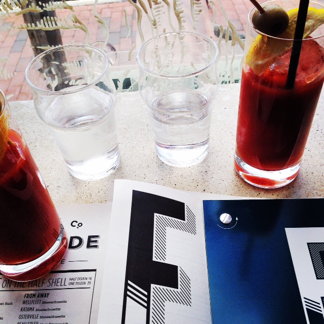 Bloody Mary's at Eventide