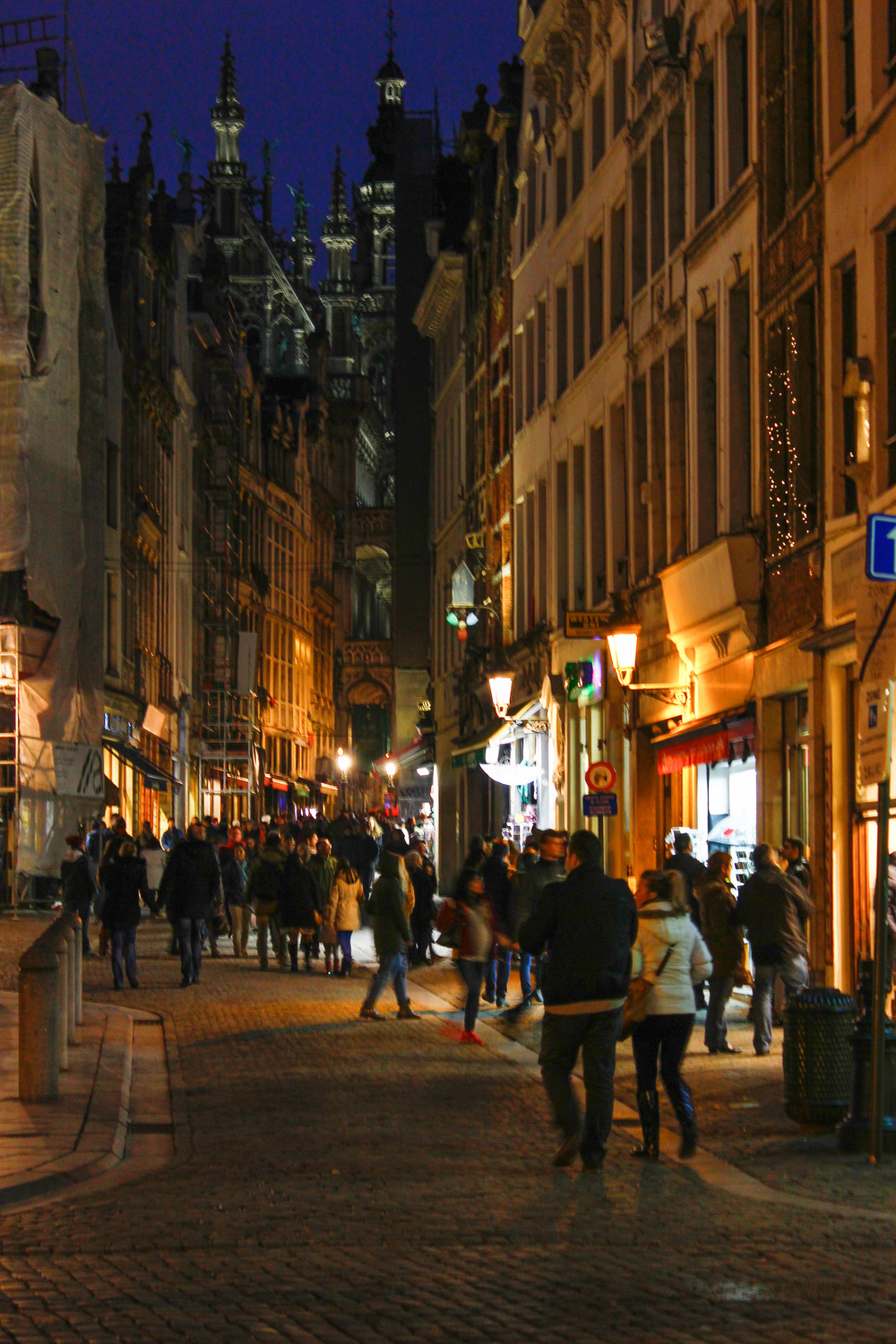 Gorgeous Brussels at night